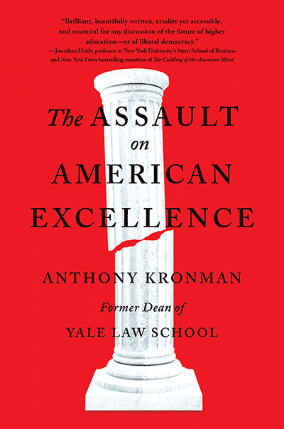 Michael Shermer with Anthony Kronman — The Assault on American Excellence (SCIENCE SALON # 79) - Google Search