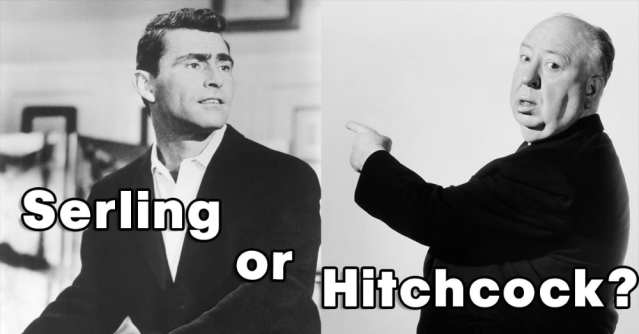 Can you tell the difference between Alfred Hitchcock and Rod Serling_