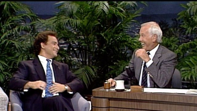Kevin Pollak Does Woody Allen, William Shatner, and Columbo on Carson Tonight Show, 10_19_1988