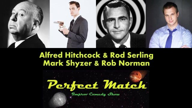 Perfect Match - Alfred Hitchcock & Rod Serling