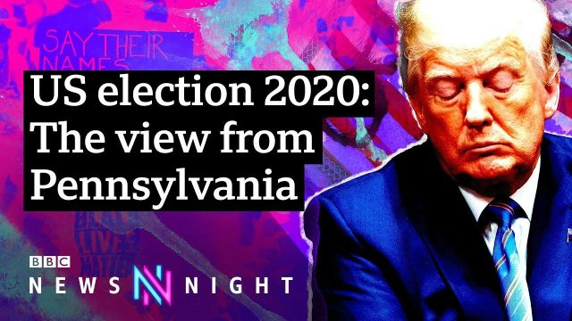 Is President Trump heading for defeat in November_ - BBC Newsnight